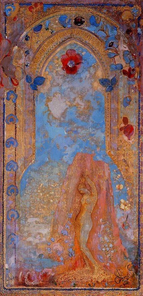 Odilon Redon - Andromeda - 1912