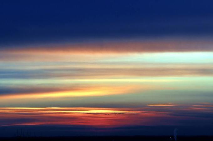 tramonto o alba
